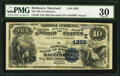 National Bank Notes:Maryland, Baltimore, MD - $10 1882 Date Back Fr. 539 The NB of Commerce Ch. #(E)4285. ...