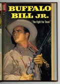 Silver Age (1956-1969):Western, Buffalo Bill, Jr. #7-13 Bound Volume (Dell, 1956-59)....