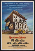 "Movie Posters:Adventure, Genghis Khan (Columbia, 1965). One Sheet (27"" X 41""). Drama.Starring Stephen Boyd, Omar Sharif, James Mason and Eli Wallach..."