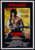 "Movie Posters:Action, Rambo: First Blood Part II (Tri Star Pictures, 1985). One Sheet (27"" X 41""). Action. Starring Sylvester Stallone, Richard Cr..."