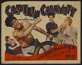 "Movie Posters:Adventure, Captain Calamity (Grand National, 1936). Half Sheet (22"" X 28"")Style A. Adventure. Starring George Houston, Marian Nixon, V..."