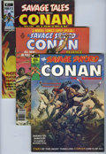 Magazines:Miscellaneous, Savage Sword of Conan Group (Marvel, 1973-75).... (Total: 6)