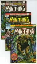 Bronze Age (1970-1979):Horror, Man-Thing Group #1-22 and V2#1 (Marvel, 1974-79) Condition: AverageVF.... (Total: 23)