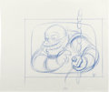 Animation Art:Production Drawing, The Simpsons - Homer, Marge, and Lisa Simpson, Comic Book Guy,Professor Frank, Milhouse Van Houten, Sherri and Terri Drawing ...(Total: 5 Items)