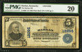National Bank Notes:Kentucky, Harlan, KY - $5 1902 Plain Back Fr. 609 The Harlan NB Ch. # 12295. ...
