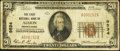 National Bank Notes:Pennsylvania, Albion, PA - $20 1929 Ty. 1 The First NB Ch. # 9534. ...