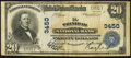 National Bank Notes:Colorado, Trinidad, CO - $20 1902 Plain Back Fr. 651 The Trinidad NB Ch. #3450. ...