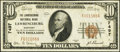 National Bank Notes:Kentucky, Lawrenceburg, KY - $10 1929 Ty. 1 The Lawrenceburg NB Ch. # 7497....