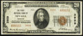 National Bank Notes:Missouri, Nevada, MO - $20 1929 Ty. 2 The First NB Ch. # 3959. ...