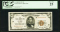 Low Serial 500 Fr. 1850-H $5 1929 Federal Reserve Bank Note. PCGS Very Fine 25