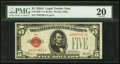 Small Size:Legal Tender Notes, Fr. 1526* $5 1928A Legal Tender Note. PMG Very Fine 20.. ...