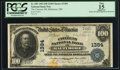 National Bank Notes:Maryland, Baltimore, MD - $100 1902 Date Back Fr. 689 The Citizens NB Ch. #1384. ...