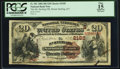 National Bank Notes:Kentucky, Mount Sterling, KY - $20 1882 Brown Back Fr. 501 The Mt. SterlingNB Ch. # (S)2185. ...