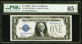 Small Size:Silver Certificates, Fr. 1604 $1 1928D Silver Certificate. PMG Gem Uncirculated 65 EPQ.. ...