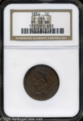 Patterns: , 1854 P1C One Cent, Judd-161 Original, Pollock-187, R.4, PR58 BrownNGC. PCGS Population (4/99). NGC Census: (1/20). ...