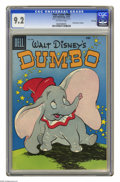 Golden Age (1938-1955):Funny Animal, Four Color #668 Dumbo -- File Copy (Dell, 1955) CGC NM- 9.2Off-white pages. First of two printings. Overstreet 2005 NM- 9.2...