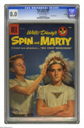 Silver Age (1956-1969):Miscellaneous, Four Color #808 Spin and Marty -- File Copy (Dell, 1957) CGC VF 8.0 Off-white pages. Photo cover. Overstreet 2005 VF 8.0 val...