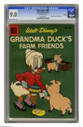 Silver Age (1956-1969):Cartoon Character, Four Color #965 Grandma Duck's Farm Friends -- File Copy (Dell, 1959) CGC VF/NM 9.0 Off-white pages. Overstreet 2005 VF/NM 9...