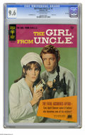 Silver Age (1956-1969):Adventure, Girl From U.N.C.L.E. #1 File Copy (Gold Key, 1967) CGC NM+ 9.6 Off-white pages. Stephanie Powers front and back photo covers... (1 )