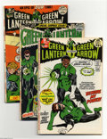 Modern Age (1980-Present):Superhero, Green Lantern #87-89 Group (DC, 1972) Condition: Average FN/VF.This eight-issue group lot includes #87 (first appearance of... (8Comic Books)
