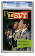 Silver Age (1956-1969):Mystery, I Spy #1 File Copy (Gold Key, 1966) CGC NM- 9.2 Off-white pages.Bill Cosby and Robert Culp photo cover. Al McWilliams art. ...