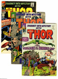 Silver Age (1956-1969):Superhero, Journey Into Mystery Group (Marvel, 1965-66) Condition: Average VG/FN. Three-issue group lot includes #115 (detailed origin ... (3 Comic Books)