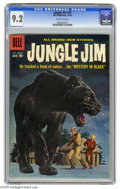 Silver Age (1956-1969):Adventure, Jungle Jim #19 (Dell, 1959) CGC NM- 9.2 Off-white pages. Overstreet 2005 NM- 9.2 value = $50. CGC census 9/05: 1 in 9.2, non... (1 )