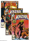 Modern Age (1980-Present):Miscellaneous, Ka-Zar the Savage #1 and 4-30 Group (Marvel, 1981-85) Condition: Average VF/NM. Twenty eight-issue group lot includes #1, 4,... (28 Comic Books)