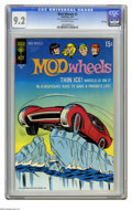 Bronze Age (1970-1979):Miscellaneous, Mod Wheels #2 File Copy (Gold Key, 1971) CGC NM- 9.2 Off-whitepages. Overstreet 2005 NM- 9.2 value = $28. CGC census 8/05: ...