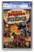 Golden Age (1938-1955):Non-Fiction, Picture Stories from Science #1 (EC, 1947) CGC VF- 7.5 Off-whitepages. Allen Simon and Don Cameron cover. Cameron art. Over...