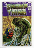 Bronze Age (1970-1979):Horror, Swamp Thing #1 Multiple Copies Group (DC, 1972) Condition: AverageVF+. This group consists of five copies of issue #1 of th... (5Comic Books)