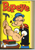 Golden Age (1938-1955):Cartoon Character, Popeye #25-36 Bound Volume (Dell, 1953-56). These are WesternPublishing file copies that have been trimmed and bound into a...