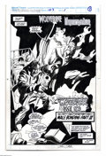 Original Comic Art:Splash Pages, Gene Colan and Al Williamson - Marvel Comics Presents #103, SplashPage 1 Original Art (Marvel, 1992). Despite their many di... (1 )