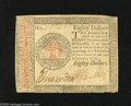 Colonial Notes:Continental Congress Issues, Continental Currency January 14, 1779 $80 Very Fine. This was thehighest denomination for Continental Currency. This exampl...