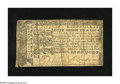 Colonial Notes:Maryland, Maryland March 1, 1770 $1/2 Very Fine. But for a weak bottom leftcorner and a couple of typically seen splits this is a ver...