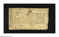 Colonial Notes:Maryland, Maryland April 10, 1774 $1/6 Very Fine. A very attractive Marylandnote with some moderate wear and a couple of minor edge s...