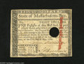 Colonial Notes:Massachusetts, Massachusetts May 5, 1780 $8 Very Fine, HOC. We've only had thisColonial twice before in our bimonthly internet only auctio...