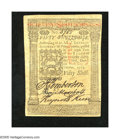 Colonial Notes:Pennsylvania, Pennsylvania October 1, 1773 50s Choice About New+++. A wonderfulexample for the grade as there is a single very light cent...