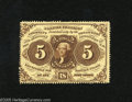 Fractional Currency:First Issue, Fr. 1229 5c First Issue Choice New. Here is a lovely piece of Fractional that is of the much scarcer perforated without mono...