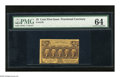 Fractional Currency:First Issue, Fr. 1279 25c First Issue PMG Choice Uncirculated 64 This is alovely example of this difficult first issue perforated type t...