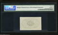 Fractional Currency:First Issue, Fr. 1313SP 50c First Issue Narrow Margin Back Specimen PMG GemUncirculated 65 What appears to be an exemplary example of th...