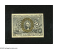 Fractional Currency:Second Issue, Fr. 1286a Slate Back 25c Second Issue Choice New. This is one of the best margined examples of this scarce Slate back variet...
