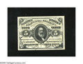 """Fractional Currency:Third Issue, Fr. 1239 5c Third Issue Superb Gem New. An absolutely superb example of this much scarcer """"a"""" on face green back variety tha..."""