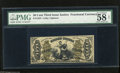 Fractional Currency:Third Issue, Fr. 1355 50c Third Issue Justice PMG Choice About Uncirculated 58 Net A very pleasing Colby-Spinner autographed note that ap...