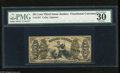 Fractional Currency:Third Issue, Fr. 1357 50c Third Issue Justice PMG Choice Very Fine 30 An attractive and often undergraded variety that has good eye appe...