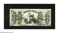"""Fractional Currency:Third Issue, Fr. 1364 50c Third Issue Justice Choice New. Tightly trimmed on a couple of sides this is still a scarcer """"a"""" on face green ..."""