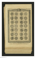 Miscellaneous:Other, Six Pages of English Coins and Seals. These pages have been removedfrom an edition of Barnard's New Complete & Authentic ... (6items)