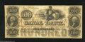 Obsoletes By State:Louisiana, New Orleans, LA- Canal Bank $100 18__. The central vignette of this note would later be used on Confederate T37s. Choice C...