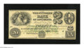 """Obsoletes By State:Louisiana, New Orleans, LA- Citizens' Bank of Louisiana $20 18__ . This is a much scarcer variety on this bank with """"TWENTY"""" on the fac..."""