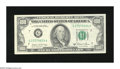 Error Notes:Ink Smears, Fr. 2170-G $100 1981A Federal Reserve Note. Extremely Fine. This isthe most dramatic ink smear this cataloguer has seen on ...